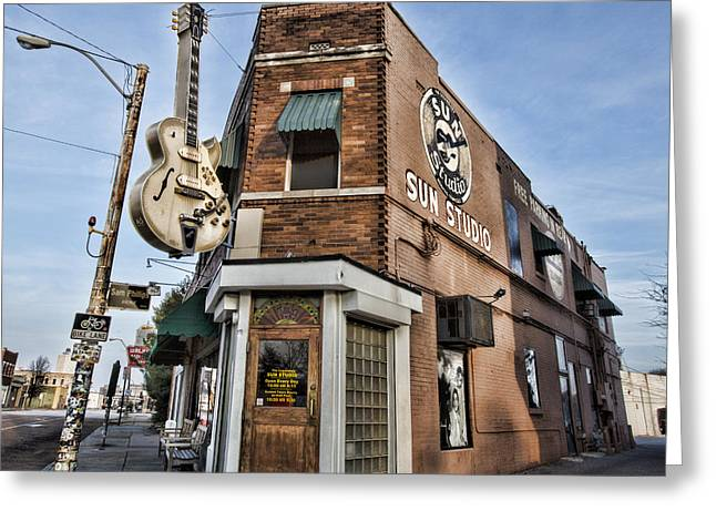 Sun Studio - Memphis #1 Greeting Card by Stephen Stookey