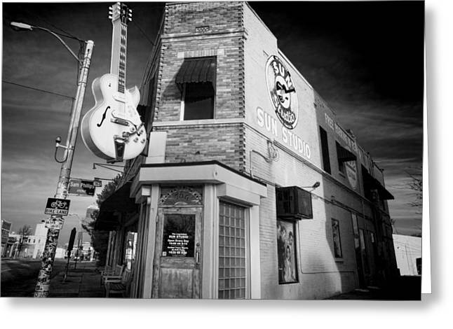 Sun Studio - Memphis #3 Greeting Card by Stephen Stookey