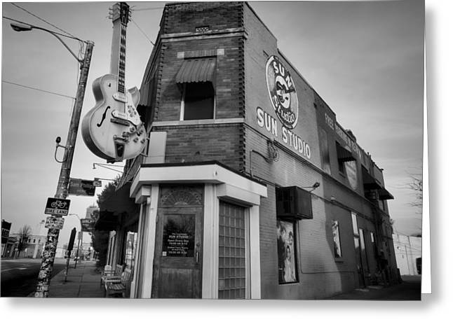 Sun Studio - Memphis #4 Greeting Card by Stephen Stookey