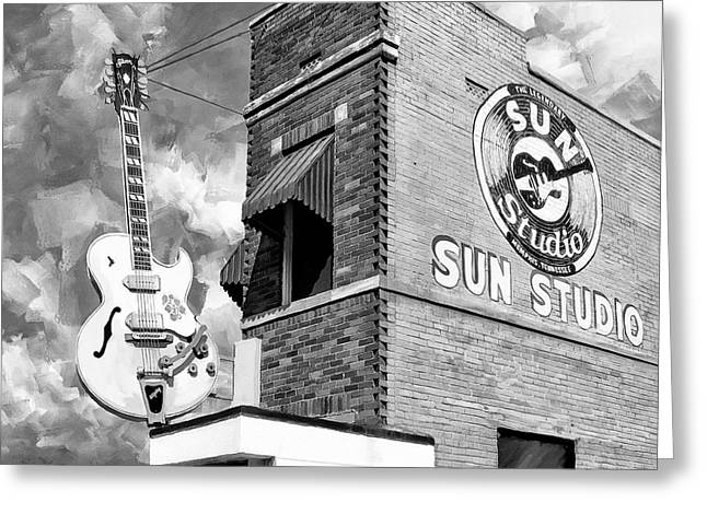 Sun Studio - Memphis Landmark Greeting Card