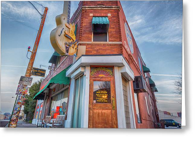 Sun Studio  Greeting Card by Stephen Stookey