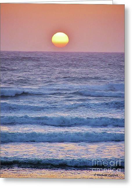 Sun To Sea Greeting Card