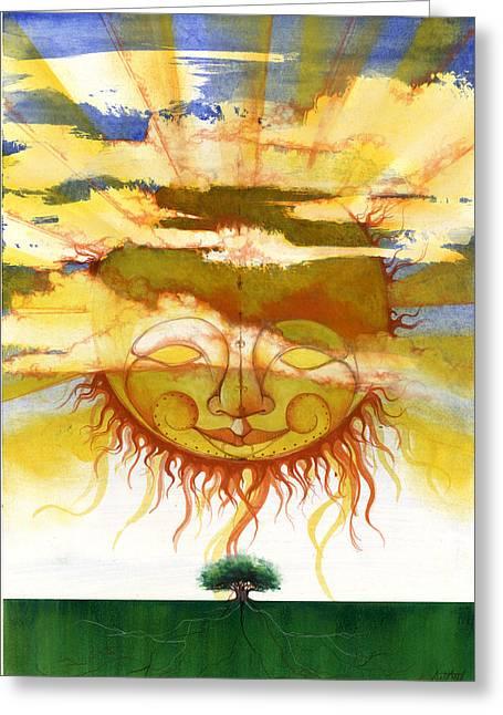 Sun1 Greeting Card