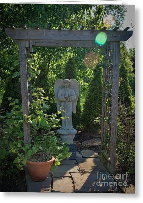 Sunbeam Angel Greeting Card