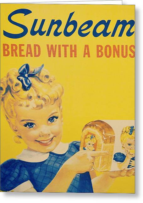 Sunbeam Girl Greeting Card