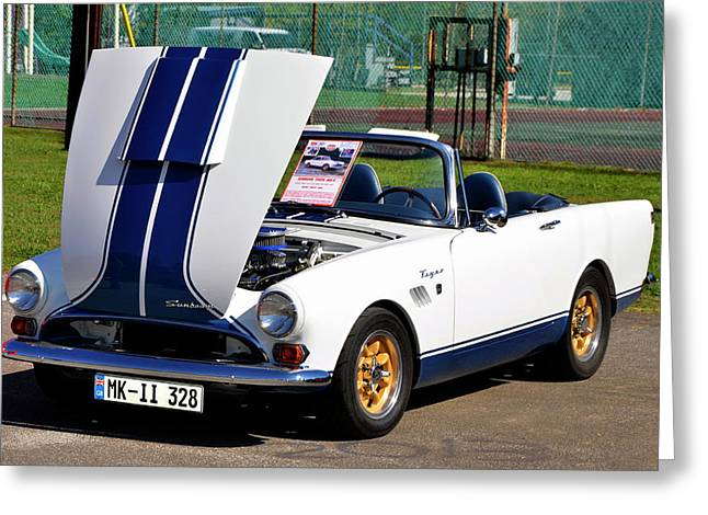Sunbeam Tiger Greeting Card