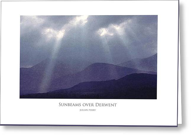 Sunbeams Over Derwent Greeting Card