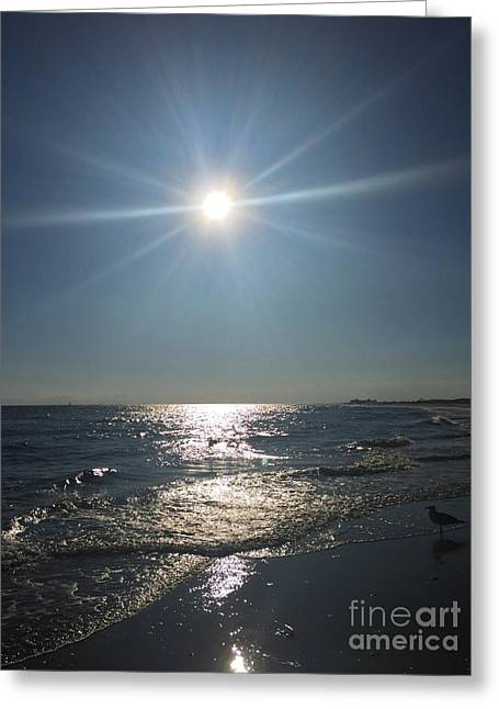 Sunburst Reflection Greeting Card