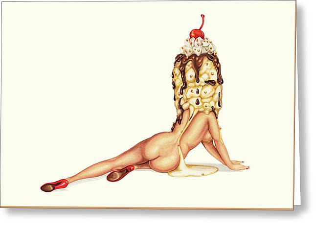 Sundae Best Greeting Card