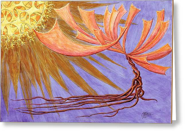 Sundancer Greeting Card by Charles Cater