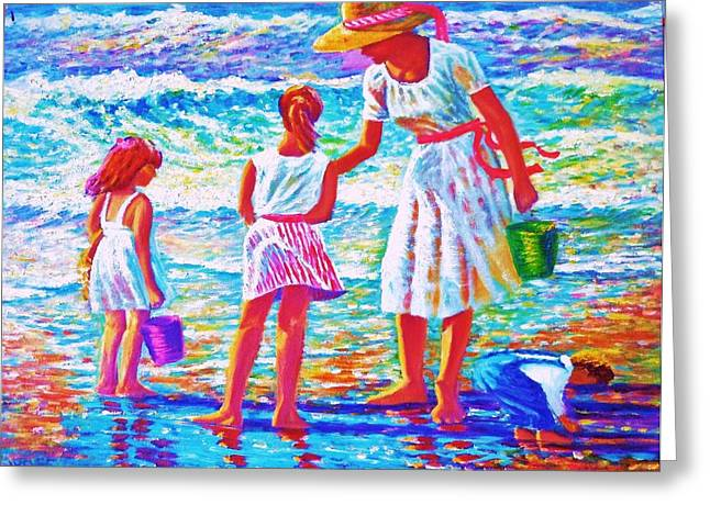 Sunday Afternoon At The Beach Greeting Card
