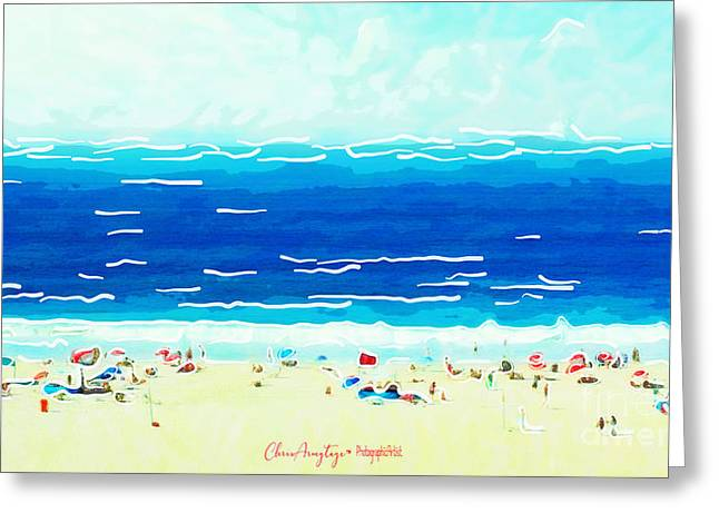 Sunday At Bondi Greeting Card