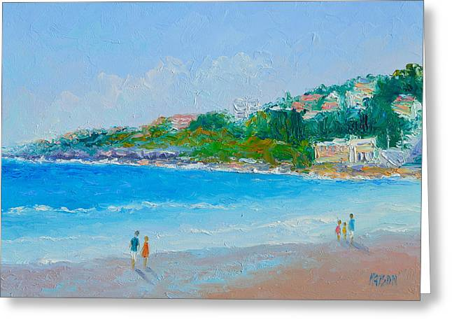 Sunday At Coogee Beach  Greeting Card