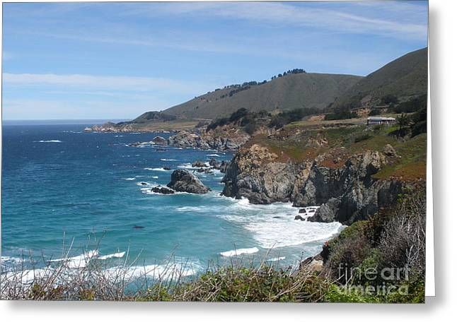 Sunday Drive - California Coast Greeting Card