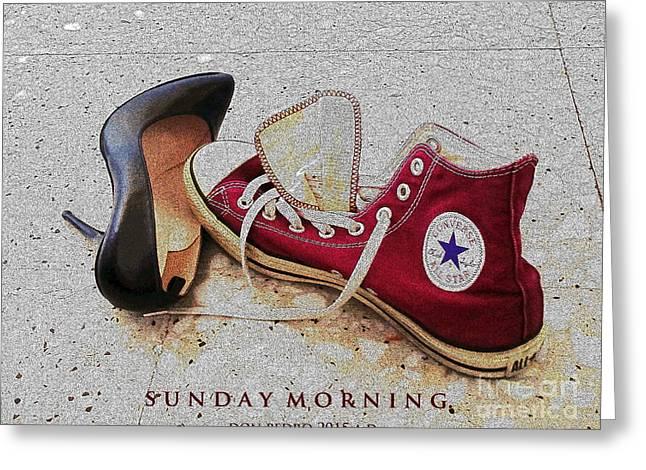 Sunday Morning Greeting Card