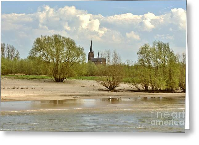 Sunday On The Rhine Greeting Card