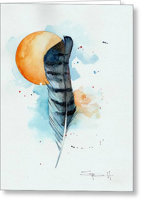 Sunfeather Greeting Card