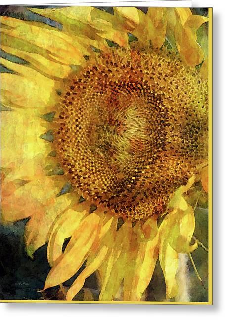Sunflower 2254 Idp_2 Greeting Card