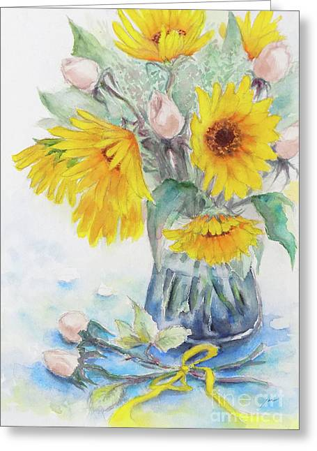 Sunflower-4 Greeting Card