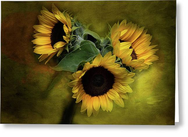 Sunflower Family Greeting Card