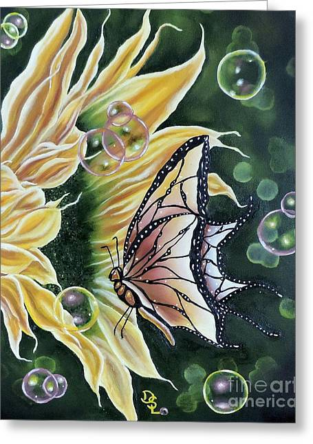 Sunflower Fantasy Greeting Card