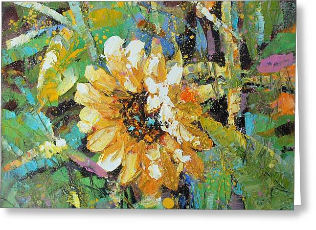 Sunflower I Greeting Card