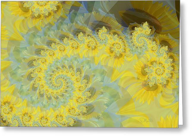 Sunflower Infused Greeting Card
