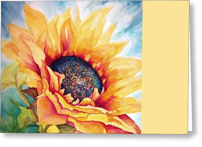 Sunflower Joy Greeting Card