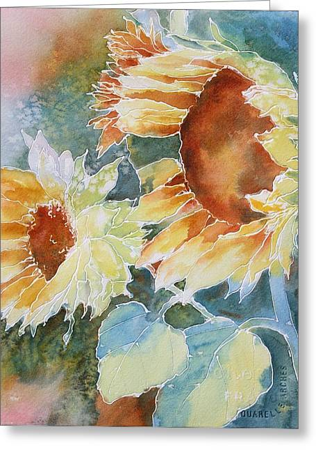 Sunflower Love Greeting Card
