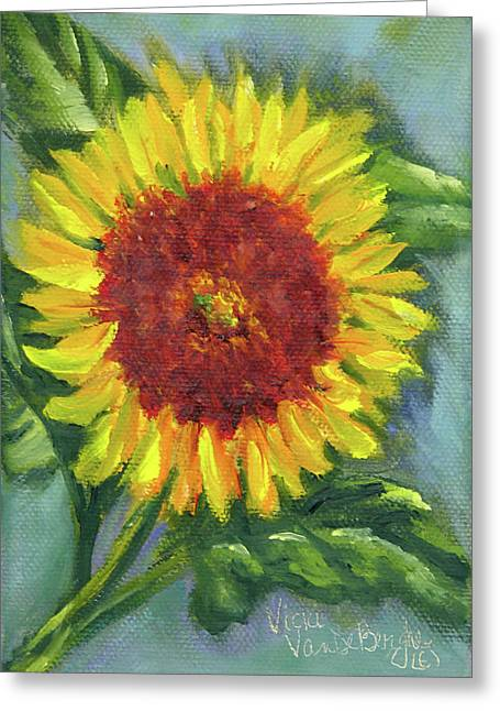 Sunflower Seed Packet Greeting Card
