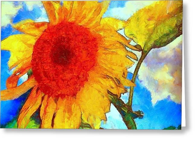 Sunflower Shine Greeting Card