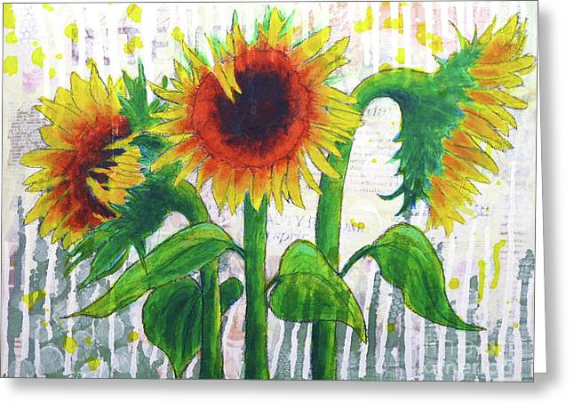 Sunflower Sonata Greeting Card