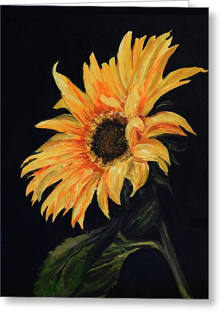 Sunflower Vii Greeting Card