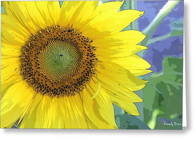 Sunflowers All Around Greeting Card