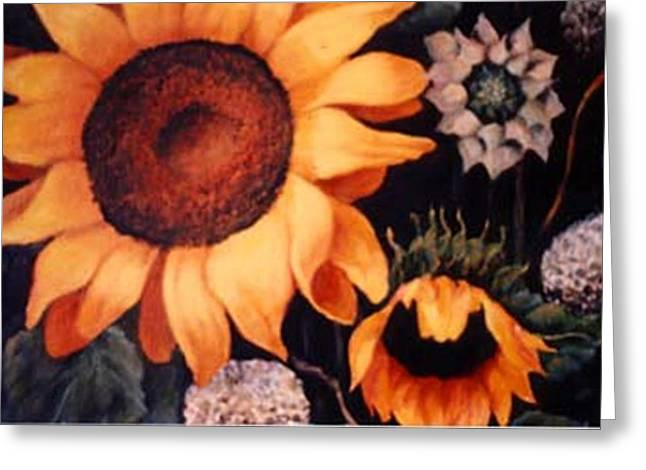 Sunflowers And More Sunflowers Greeting Card