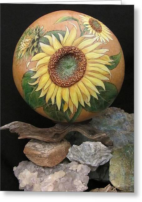 Sunflowers Gn41 Greeting Card