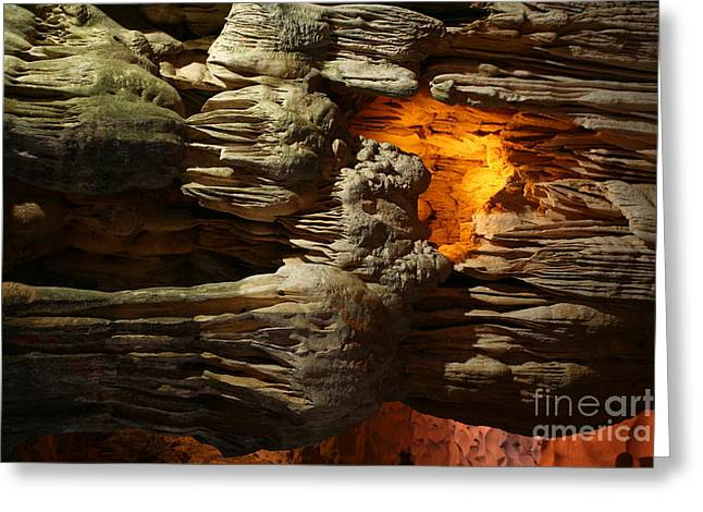 Sung Slot Cave Vietnam II Greeting Card by Chuck Kuhn
