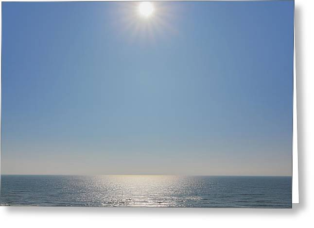 North Sea Greeting Cards - Sunlight Greeting Card by Marc Huebner