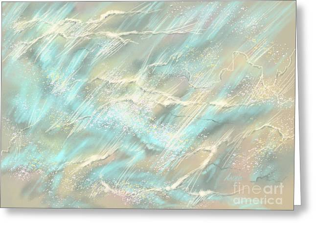 Sunlight On Water Greeting Card