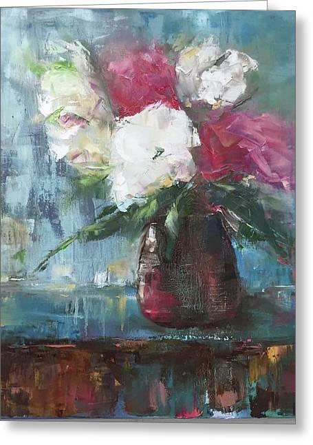 Sunlit Bouquet Greeting Card