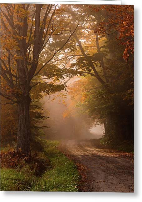 Serenity Of Fall Greeting Card