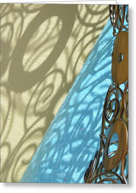 Sunlit In Swirls Greeting Card