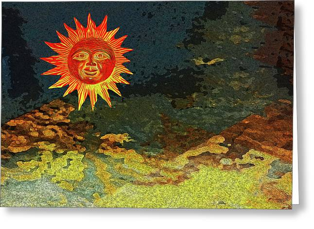 Sunny 1 Greeting Card by Bruce Iorio