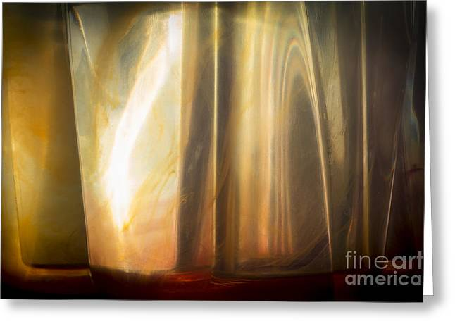 Sunny Abstract Greeting Card