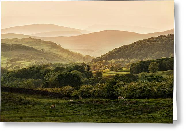 Sunny Afternoon In Lake District Greeting Card by Jaroslaw Blaminsky