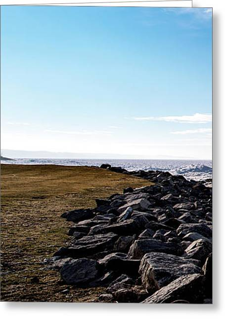 Greeting Card featuring the photograph Sunny Afternoon-t1 by Onyonet  Photo Studios