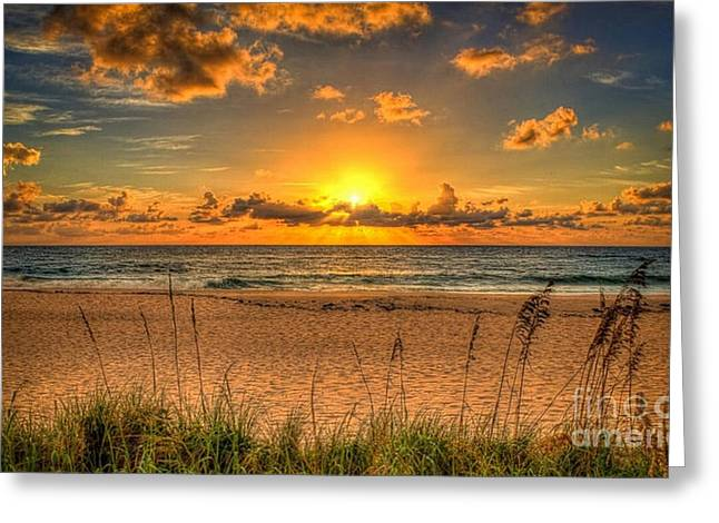 Sunny Beach To Warm Your Heart Greeting Card