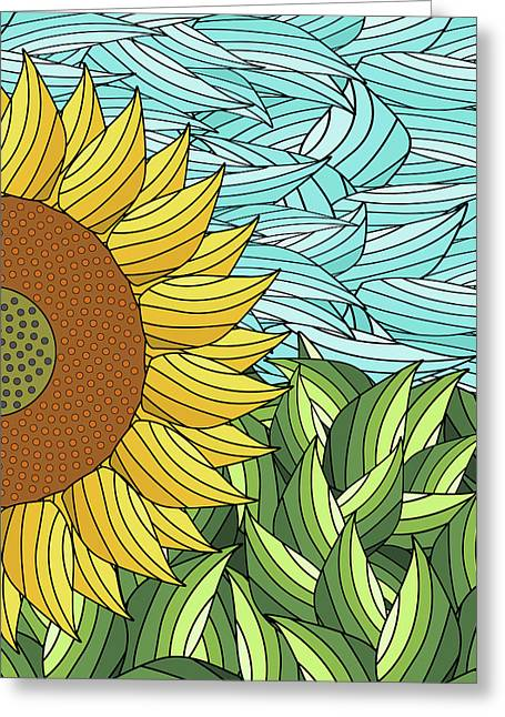Sunny Day Greeting Card by Absentis Designs