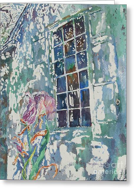 Greeting Card featuring the painting Sunny Day At Brandywine by Mary Haley-Rocks