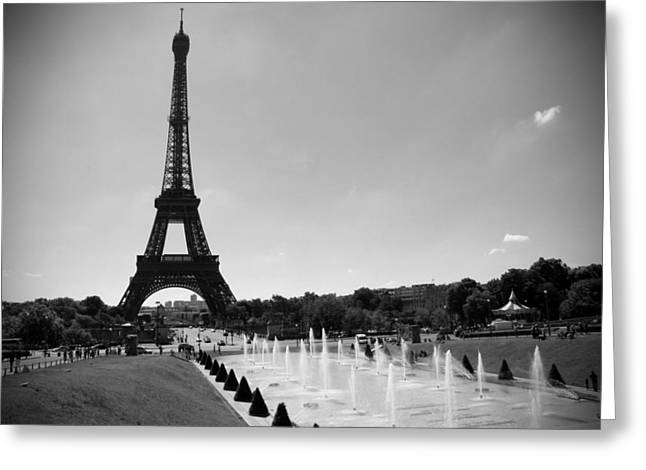 Sunny Day In Paris Greeting Card by Kamil Swiatek